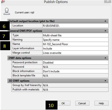 Batch plot pdf dwf plotter